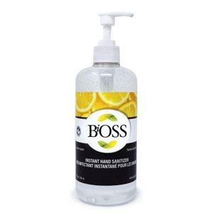 BiOSS Hand Sanitizer 500 ml - Lemon