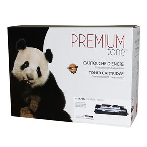 HP 3500 / 3700 Q2670A Reman Noir Premium Tone 6K