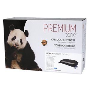HP 3505 / 3800 Q7581A Compatible Cyan PremiumTone