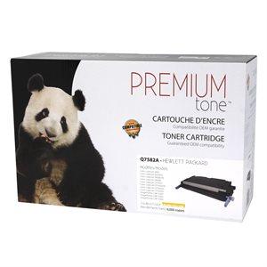 HP 3505 / 3800 Q7582A Compatible Jaune Premium Tone