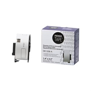 Brother DK1208 - 38mm*90mm*400 étiquettes compatible