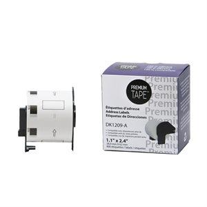 Brother DK1209 - 62mm*29mm*800 étiquettes compatible