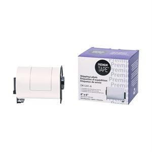 Brother DK1241- 102mm*152mm*200 étiquette compatibles blanc