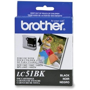 Brother LC51 Noir OEM