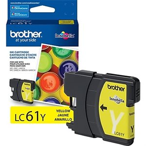Brother OEM LC61 XL Jaune