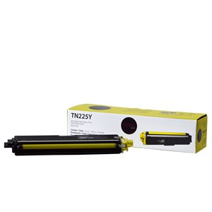Brother TN225 Jaune Compatible Pemium Tone 2.2K