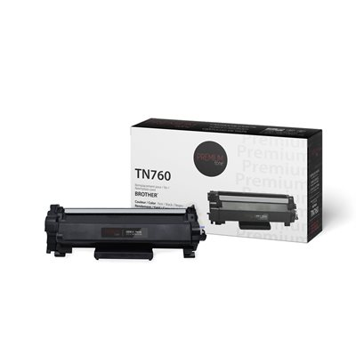 Brother TN760 Toner Compatible Premium Tone 3K