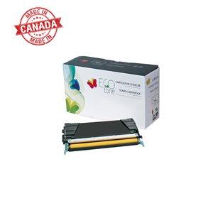 Lexmark C5220YS Reman Jaune EcoTone 3K
