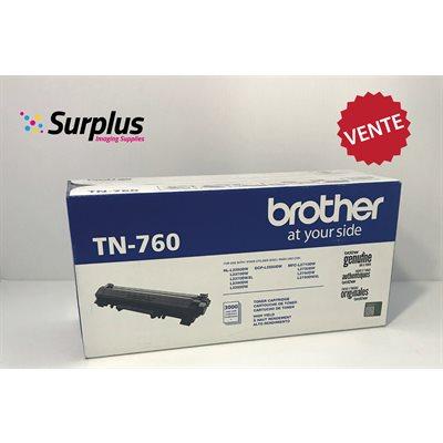 Brother TN760 OEM Toner (Grade 1) 3K