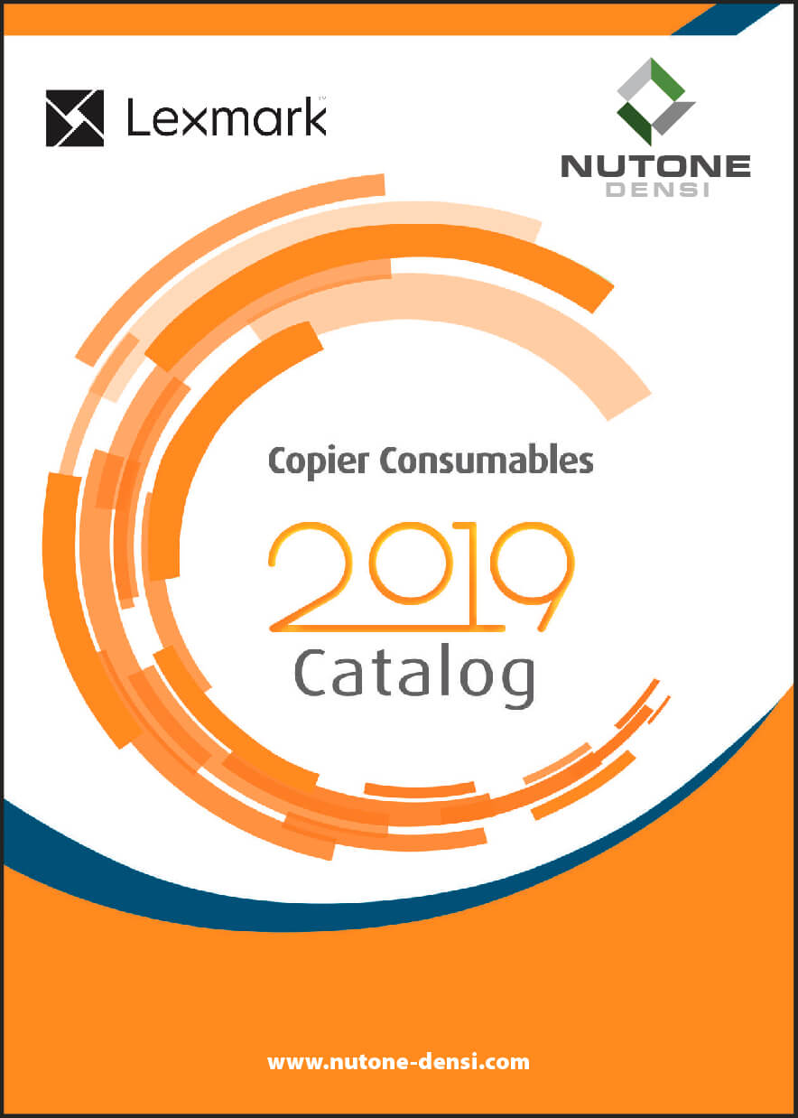 Copier Consumables Catalog Cover Lexmark_
