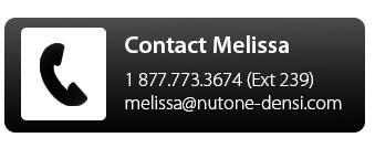 Contact Melissa